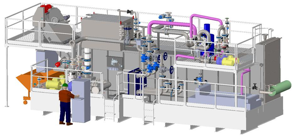 Coolant Filtration and Swarf Handling/Processing